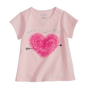 NWT First Impressions Pink Heart T-shirt Top 24mo